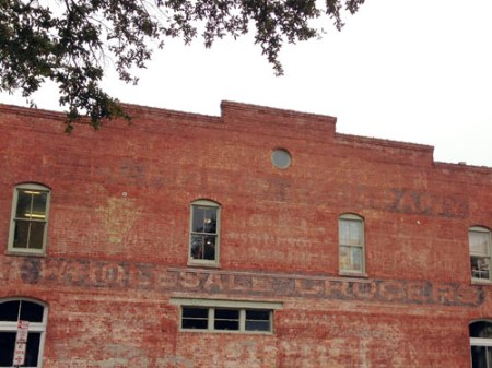 Belford Wholesale Grocers Ghost Sign in Savannah