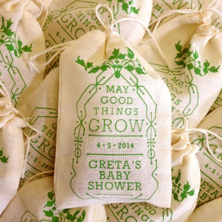 Seed Bomb Wedding Favors by VisuaLingual