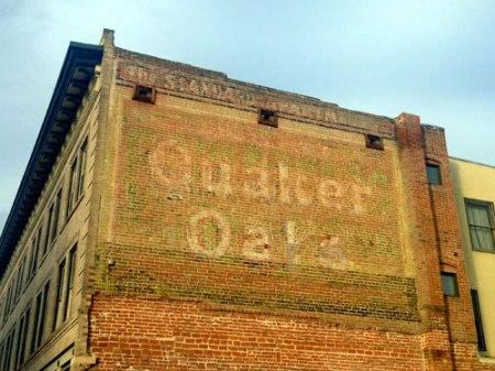 Quaker Oats Ghost Sign in Denver