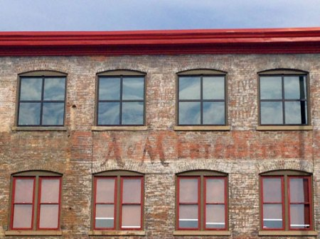 A&M Enterprises Ghost Sign in Cincinnati