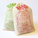Custom Seed Bomb Wedding Favors by VisuaLingual