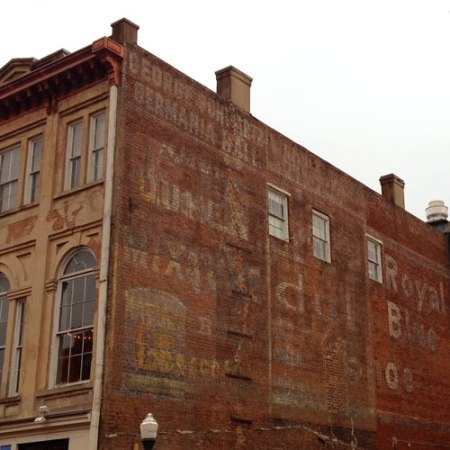 George Schwartz Germania Hall Ghost Sign in Savannah