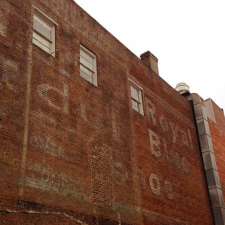 George Schwartz Germania Hall Ghost Sign in Savannah
