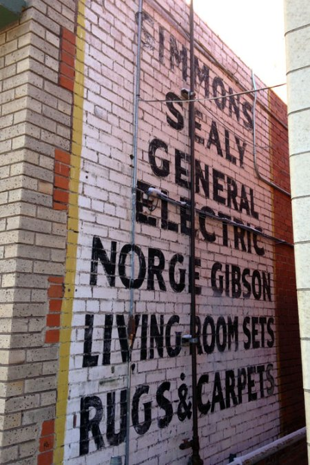 Simmons Sealy Ghost Sign in Denver