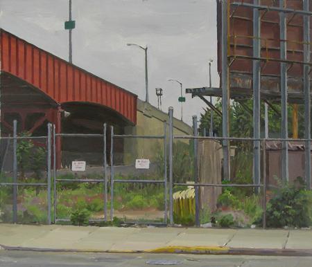 H-22: Borden Ave. at Pulanski Bridge, Queens by Scott Williams