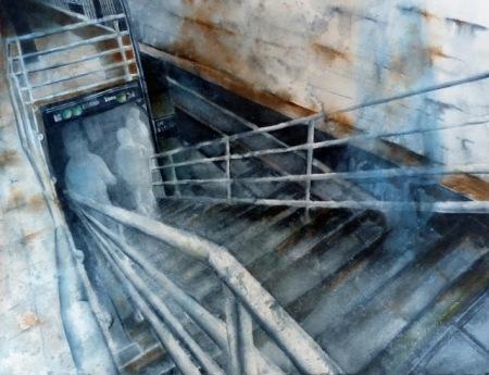 Descending by Joan Iaconetti