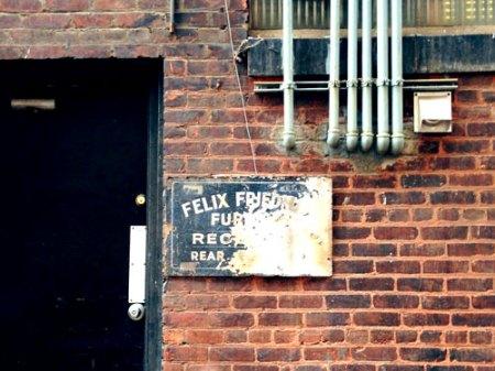 Friedman Furs Ghost Sign in Cincinnati
