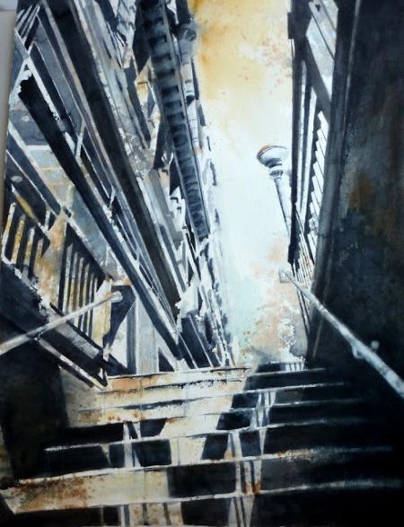 Morning Commute by Joan Iaconetti