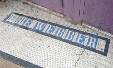 The Webber Theater Ghost Tile in Denver