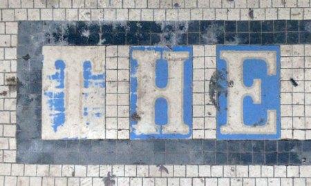 The Webber Theater Ghost Tile in Denver