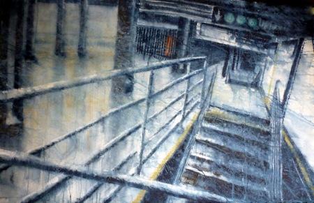 Wet Floor II by Joan Iaconetti