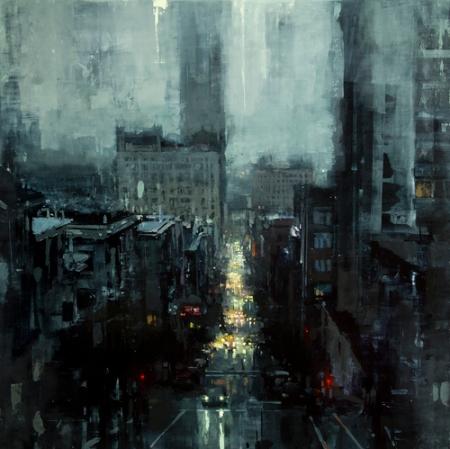 The City Tempest by Jeremy Mann