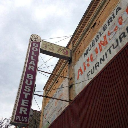 Aronson Furniture/Dollar Buster Plus Ghost Signs in Chicago