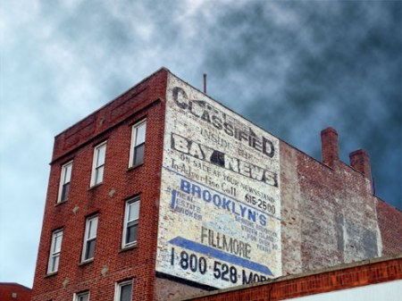 Bay News/Fillmore Ghost Signs in Brooklyn