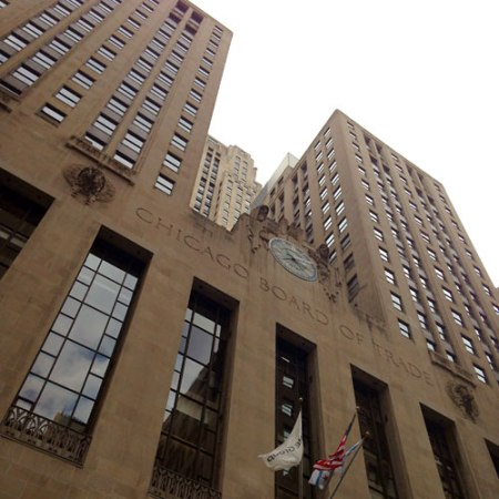 Chicago Board of Trade by Holabird & Root