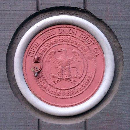 B&O Federal Credit Union Ghost Sign in Cincinnati
