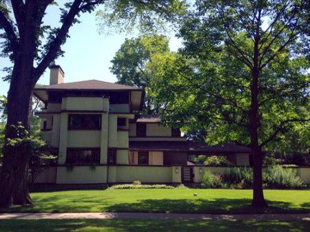 Frank Lloyd Wright's Oak Park