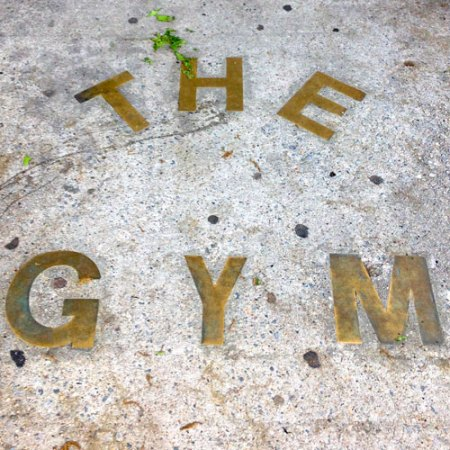 The Gym Ghost Sign in Brooklyn