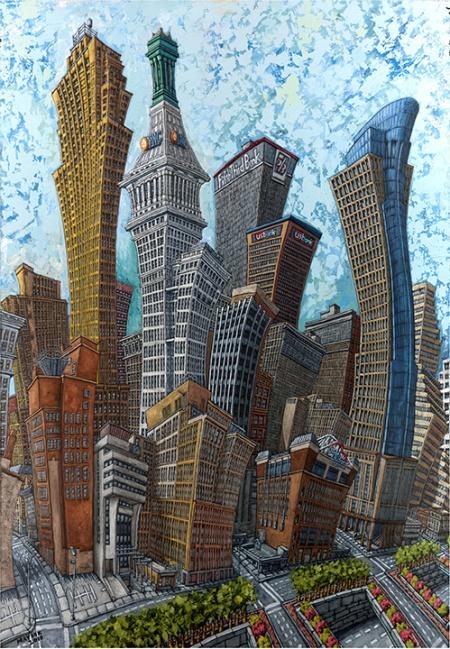Cincinnati Cityscapes by Mike Maydak