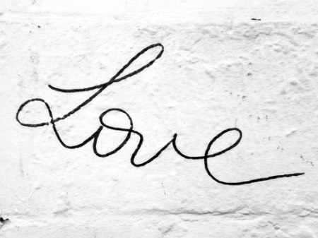 Love graffiti, NYC