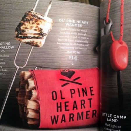 VisuaLingual Ol Pine Heart Warmer at Restoration Hardware