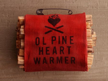 VisuaLingual Ol Pine Heart Warmer at Restoration Hardware