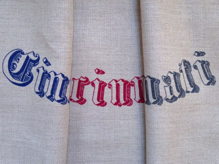 Cincinnati Tea Towels by VisuaLingual