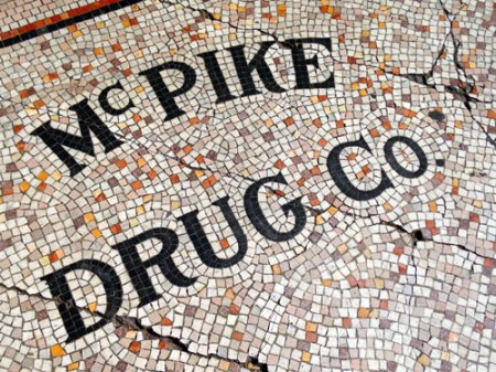 McPike Drug Co. Ghost Sign in San Francisco