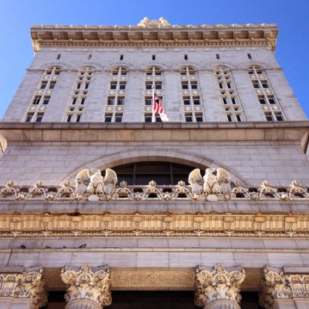 Oakland City Hall by Henry Hornbostel