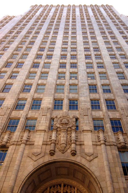 Pacific Telephone Building by Miller & Pflueger