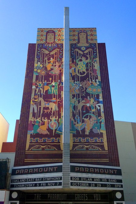 Paramount Theatre by Timothy L. Pflueger