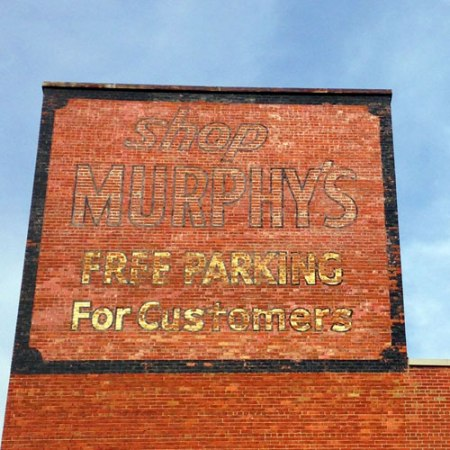 G.C. Murphy Co. Ghost Sign in Indianapolis