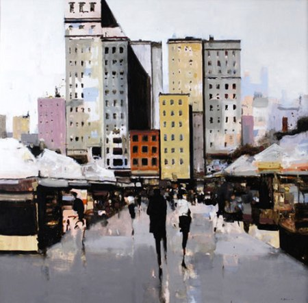 City Portrait by Geoffrey Johnson