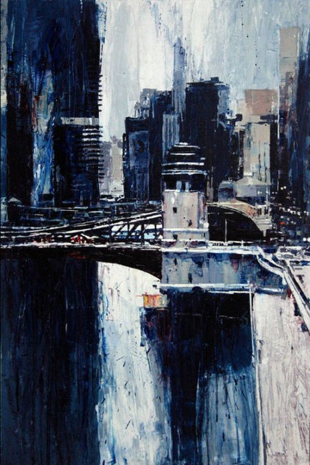 Clark Street Bridge by Michael Goro