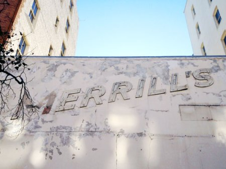 Merrill's Ghost Sign in San Francisco