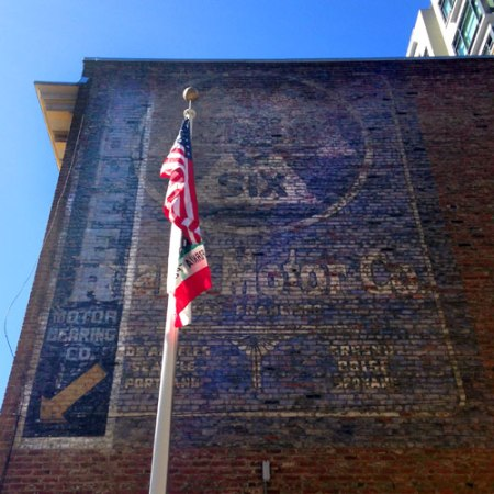 Pioneer Motor Bearing Co./Stark Motor Co. Ghost Signs in San Francisco