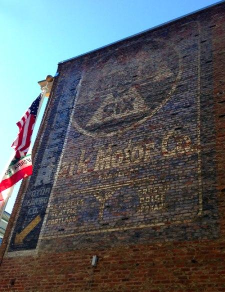 Pioneer Motor Bearing Co./Stark Motor Co. Ghost Signs in San Francisco