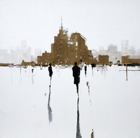 Untitled Gold #3 by Geoffrey Johnson