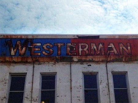 The Westerman Print Company Ghost Sign in Cincinnati