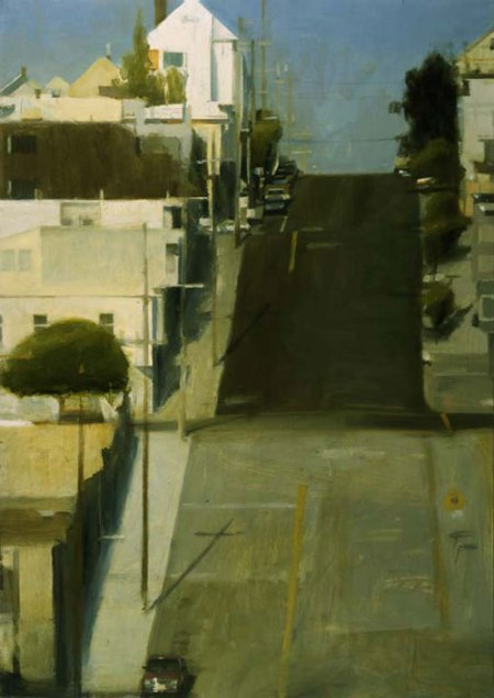 Hill Street, San Francisco by Ben Aronson