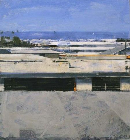 Santa Monica Rooftops XV by Ben Aronson
