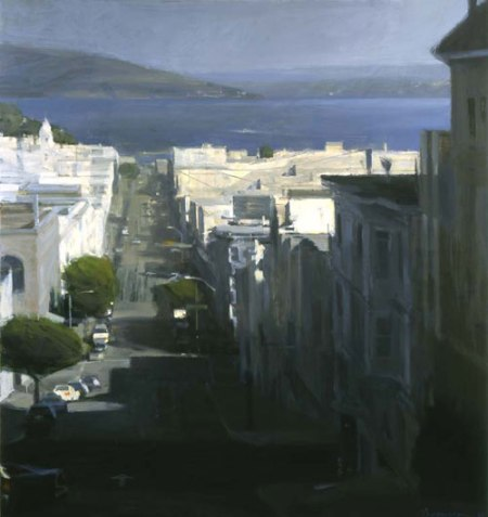 To the Bay from Nob Hill by Ben Aronson