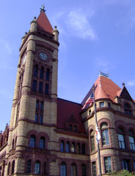 Cincinnati City Hall by Samuel Hannaford
