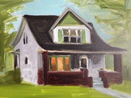 house portrait by Kyle Ragsdale