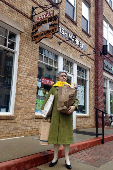 Man on the Street Series by J. Seward Johnson Jr.