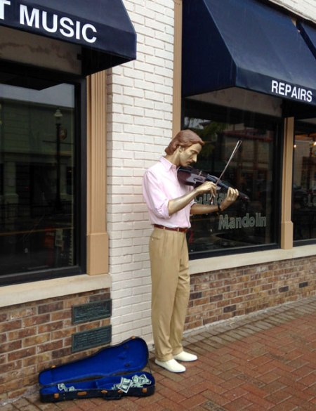 Man on the Street Series by J. Seward Johnson Jr.