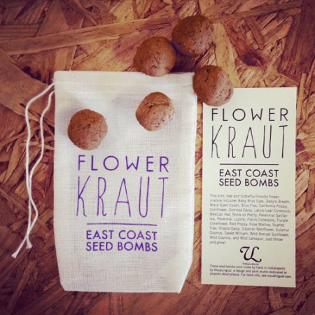 VisuaLingual private label seed bombs for Flowerkraut