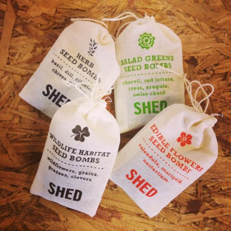 VisuaLingual private label seed bombs for SHED
