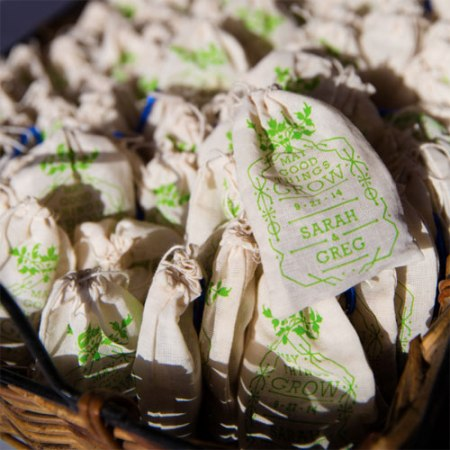 VisuaLingual Personalized Seed Bomb Favors