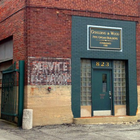 Service Ghost Sign in Indianapolis